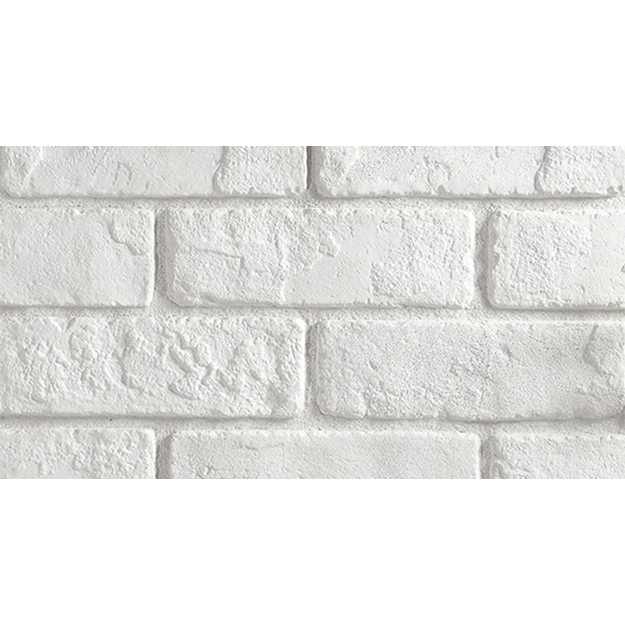 Antique white brick